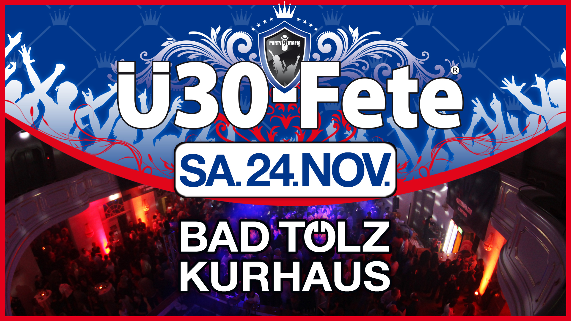 Party Highlight in Bad Tölz: Die Ü30-Fete