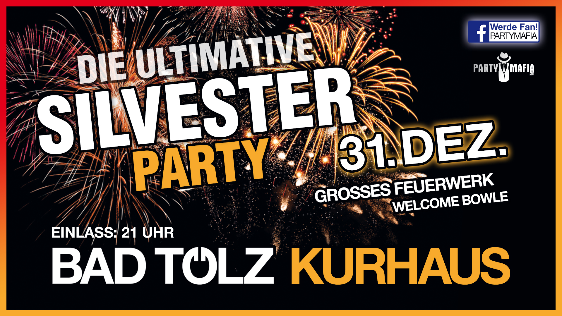 Die ultimative Silvesterparty 2018