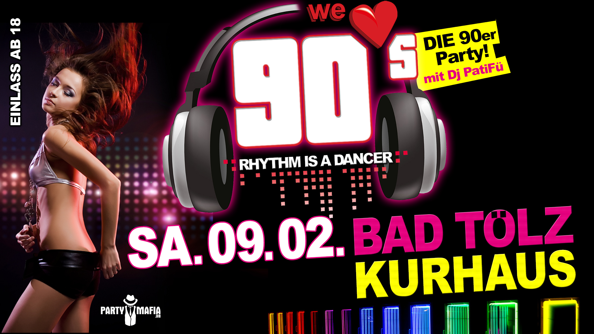 We love 90s - Kurhaus Bad Tölz