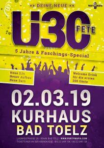 Party Highlight und Partykult seit über 5 Jahren - Bad Tölz - Die Ü30 FETE, das Original