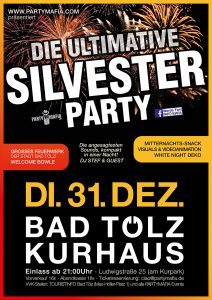 Die ultimative Silvester Party Gala 2019 - Bad Tölz - 31.12.2019 - Partymafia Eventagentur